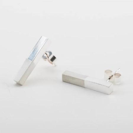 Jeg - two tone earrings