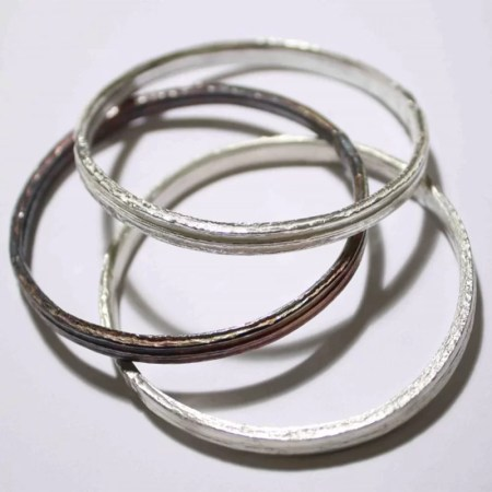 Fiona Hutchinson - Angelica Bangles – thick width