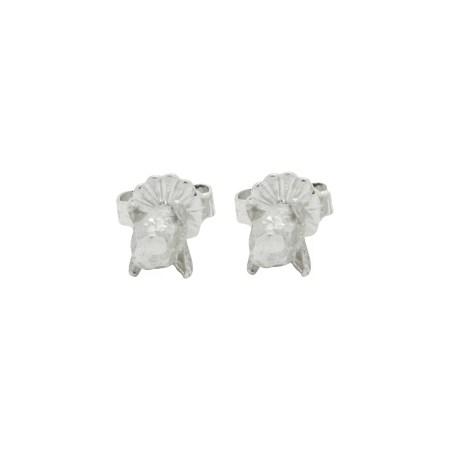 Fiona Hutchinson - Silver Clove Earrings