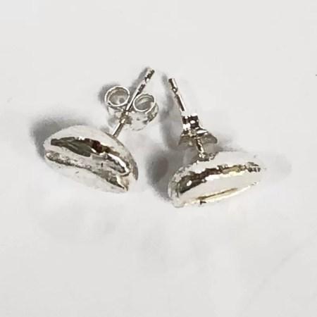 Fiona Hutchinson - Coffee Bean Stud Earrings
