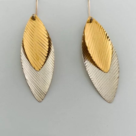 Emma Mogridge - Double Kite Earrings