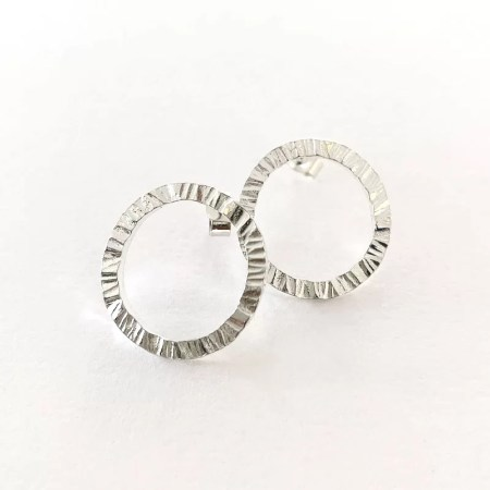 Janet Leitch - circle studs