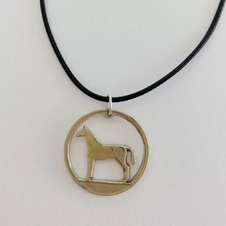 Oathill and Kinsfolk - horse pendant