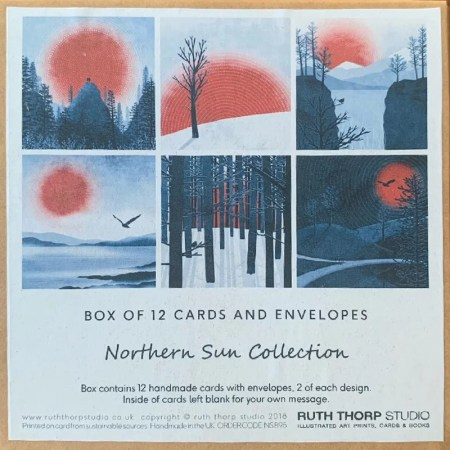 12 Card Pack - Northern Sun