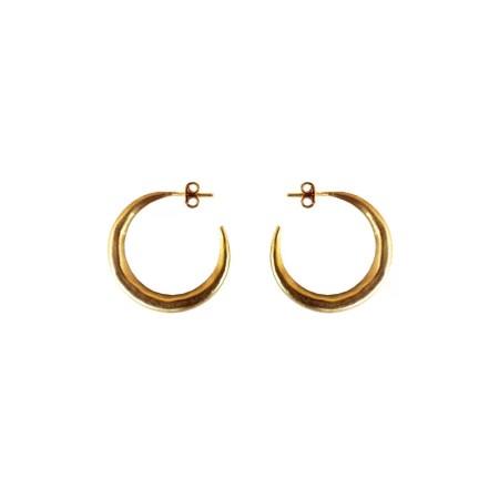 Eleni Koumara - small hoop earrings