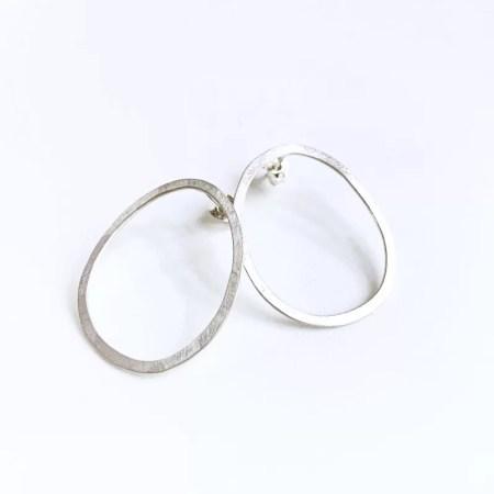 Julia Wright - Bubble earring studs.