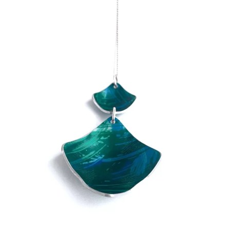 Lisa Marsella - Pendant multi blue tone