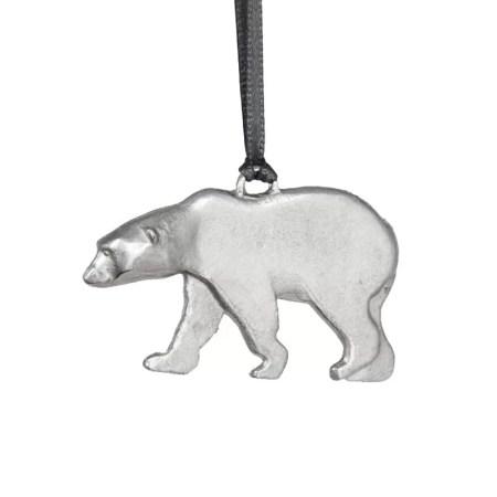 Jim Lancaster - Pewter decorations Polar bear