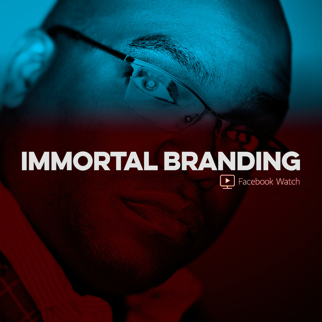 IMMORTAL BRANDING with CAM EVANS Exclusively on Facebook Watch