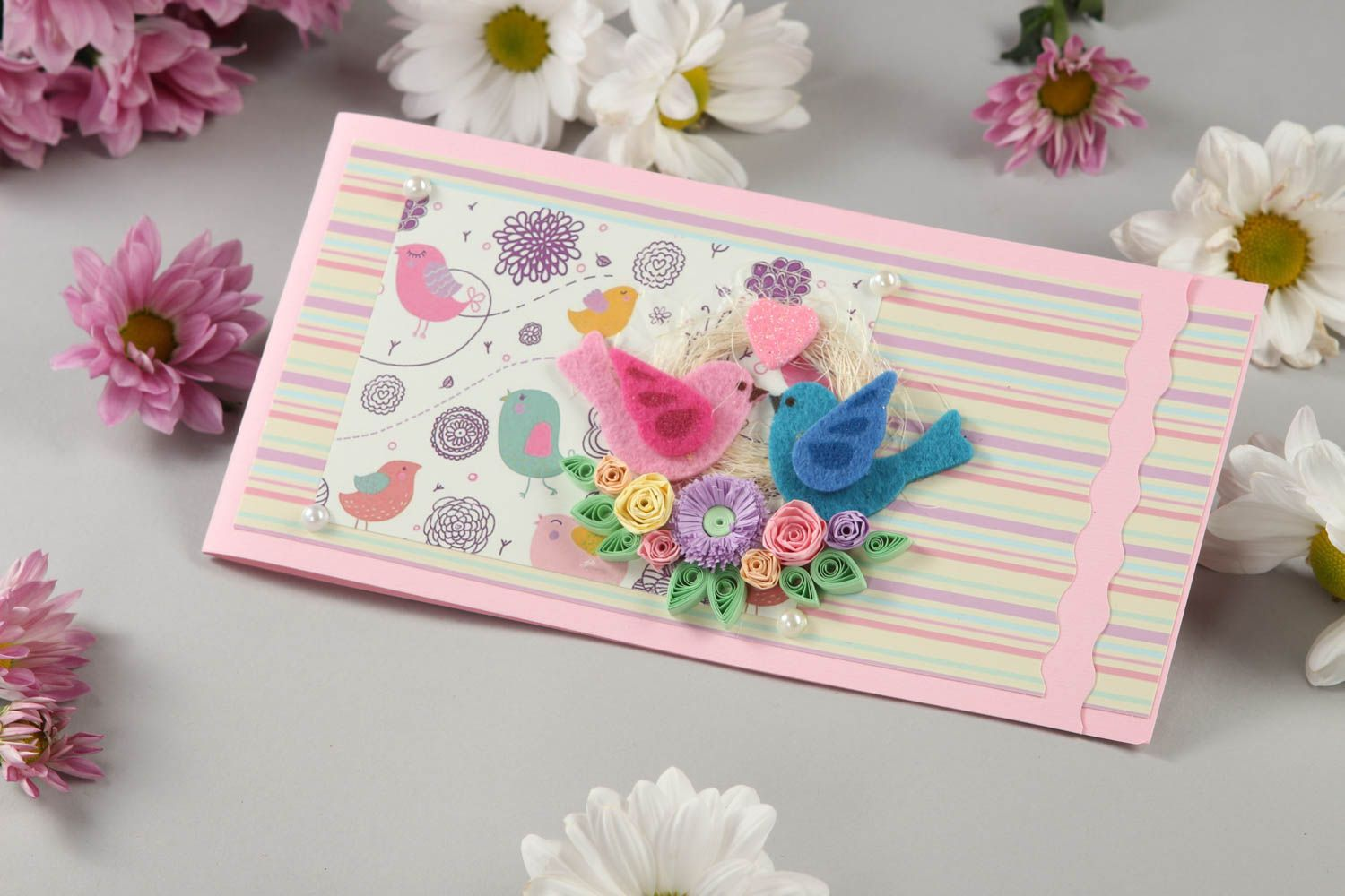 MADEHEART > Cute Handmade Greeting Card Birthday Greeting