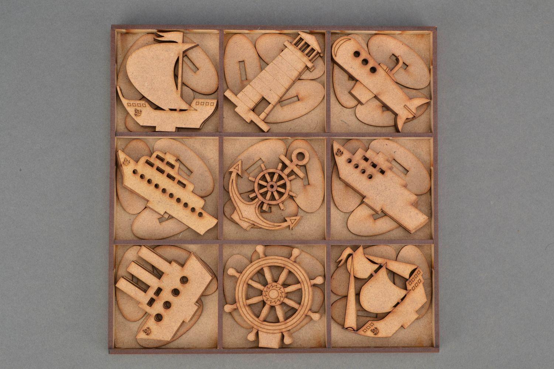 MADEHEART  Piezas de madera de MDF para pintar