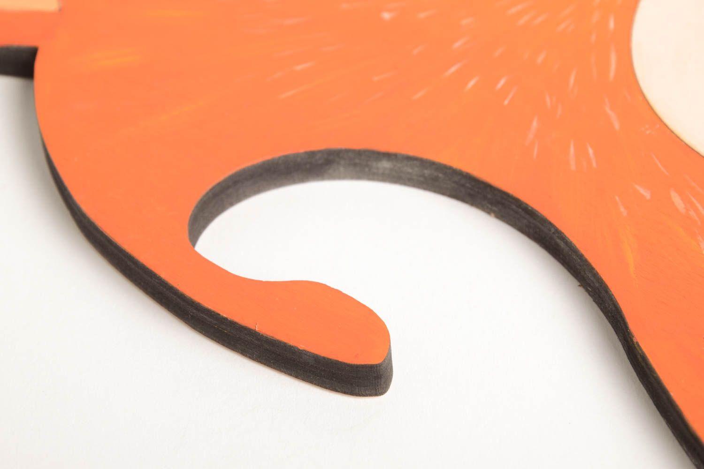 MADEHEART  Cintre bb fait main Cintre pour enfant Dcoration chambre renard peint