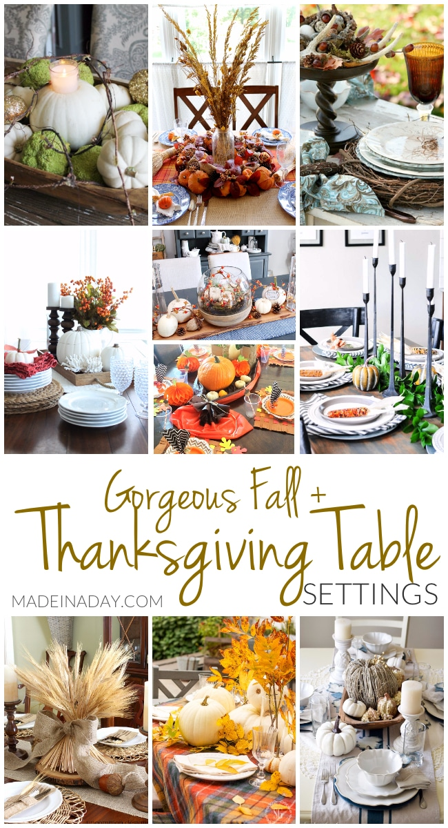 gorgeous fall thanksgiving table