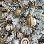 Snowy Eclectic Bohemian Style Christmas Tree Made In A Day