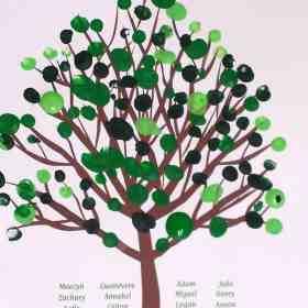 Fingerprint Tree – A Touching gift idea!