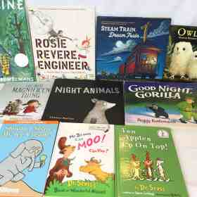 Made in a Pinch Treasures: Ten Young Children's books
