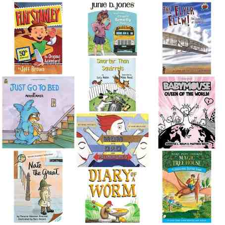 1st grade reading list books