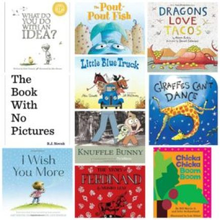Kindergarten reading list books