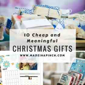 10 Meaningful and Affordable Christmas Gift Ideas