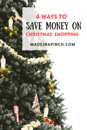 4 Ways to Save Money On Christmas Gifts - Made In A Pinch