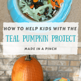 Add the Teal Pumpkin Project to the Halloween Fun!
