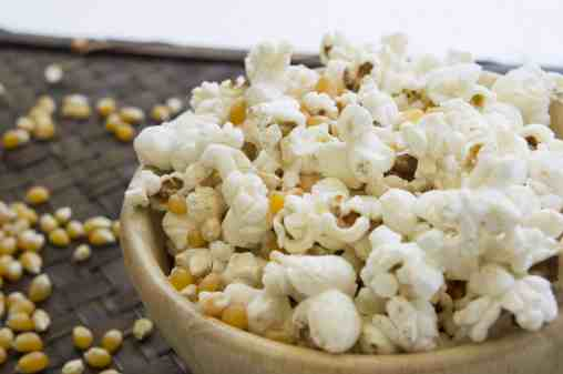 making homemade popcorn in an inexpensive air popper is fast and much healthier than microwave popcorn. Get our recipe and more helpful tips at Made in a Pinch and follow us on Pinterest!2