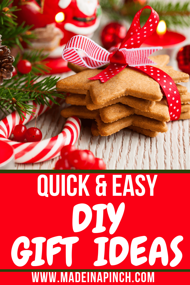 Grab our ideas for simple last minute DIY gifts at Made in a Pinch. For more helpful tips and delicious recipes, follow us on Pinterest.