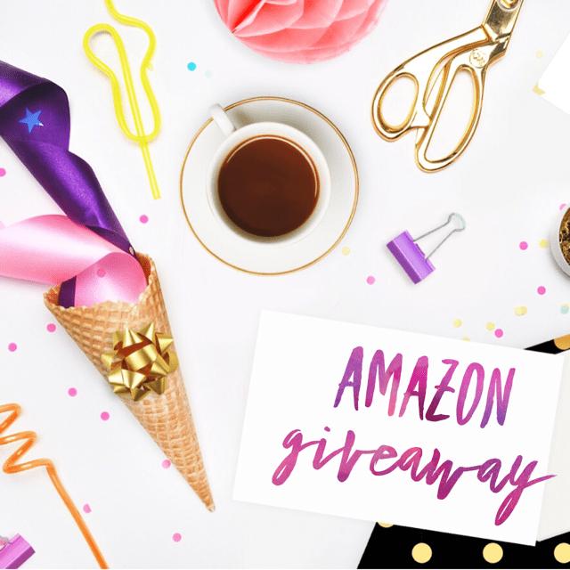 Amazon giveaway graphic