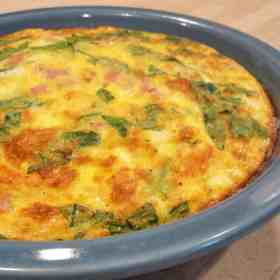 ultimate brunch crustless quiche