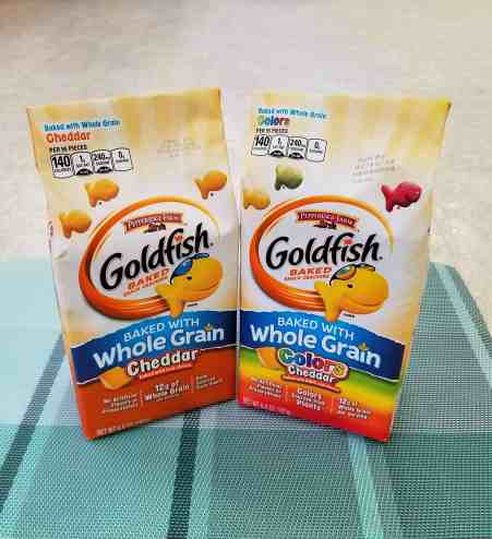 Goldfish snacks for hectic days