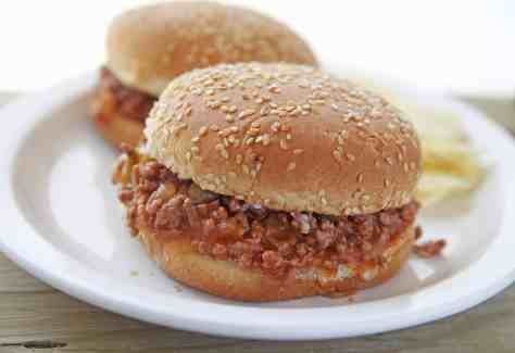 Sloppy Joes are an age old family favorite! Get our mouthwatering recipe and easy recipe at Made In A Pinch. Follow us on Pinterest for even more recipes!2-min