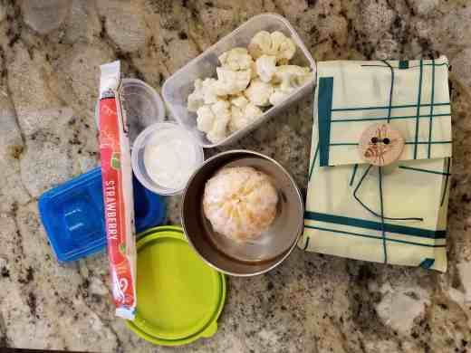 An example of how we use eco-friendly products like the Stasher in our lunches. For more helpful tips and yummy recipes, go to Made In A Pinch and follow us on Pinterest3