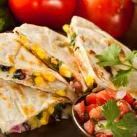 Homemade quesadillas are fast and tasty. Grab these great recipes and more at Made in a Pinch and follow us on Pinterest