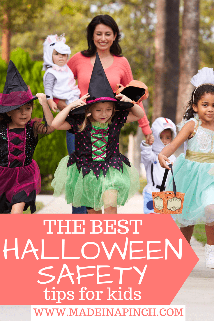 Keep Halloween fun by keeping your loved ones safe! Grab our best Halloween safety tips for parents and kids at Made in a Pinch. For more helpful tips and great recipes, follow us on Pinterest.