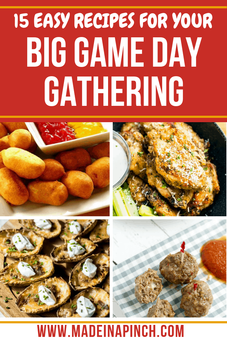 Game Day Food Ideas: Top 15 Appetizers