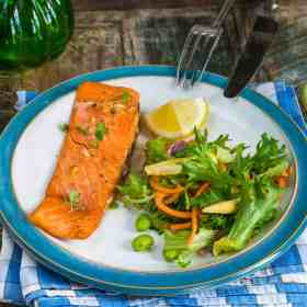 Our mouthwatering honey dijon salmon recipe will help the entire family love this healthy fish. Grab the recipe at Made in a Pinch and follow us on Pinterest for more delicious recipes and helpful tips.