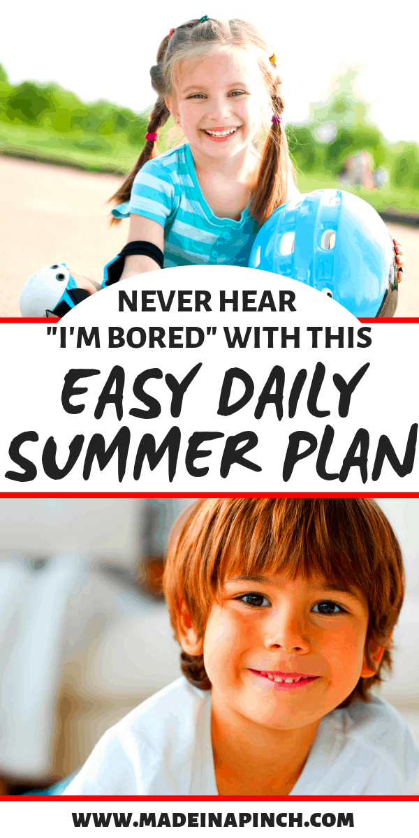 Grab our tips for creating your own summer program for kids to keep everyone busy and happy all summer!