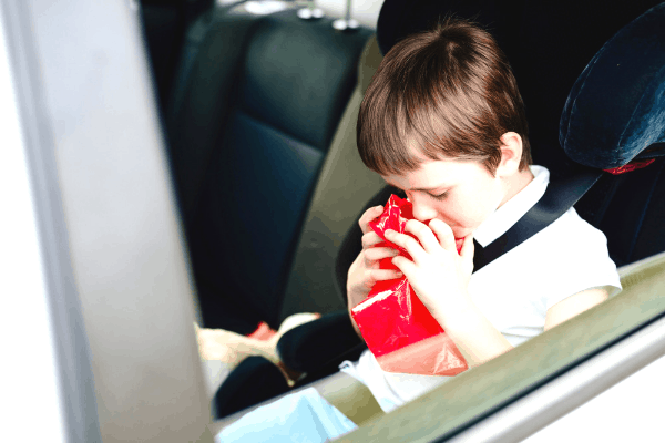 Effective tips for preventing and treating car sickness in kids