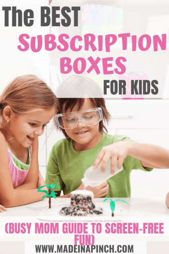 Our list of the best subscription boxes for kids to save you time