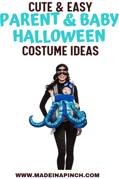 Quick and Easy Parent and Me Halloween Costume Ideas for babies