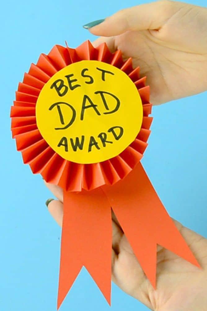 paper award ribbon craft