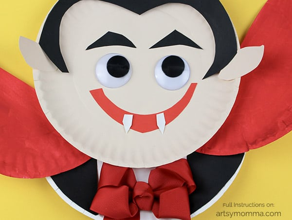paper plate vampire
