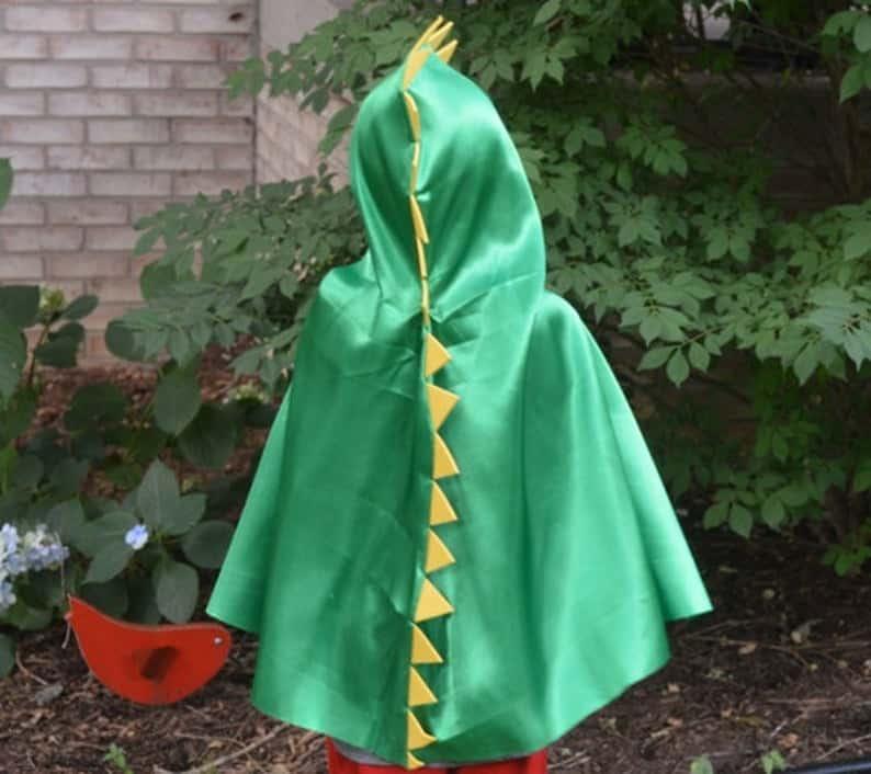kids dino cape for dress up