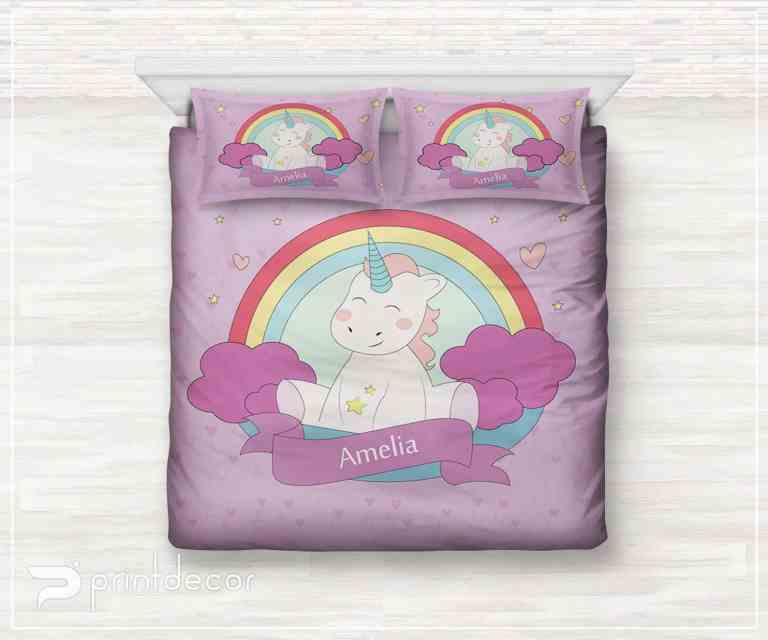 Unicorn gifts for kids - bedding