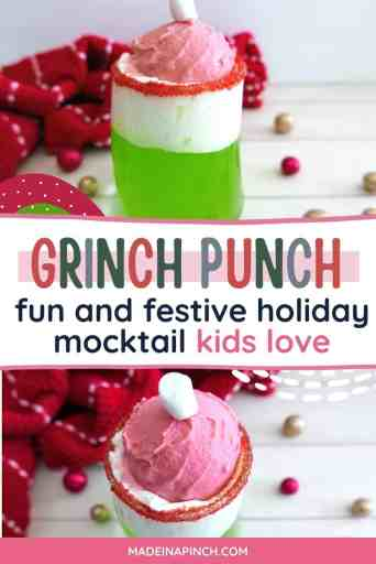 Grinch punch pin image