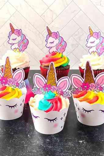 fun unicorn cupcakes