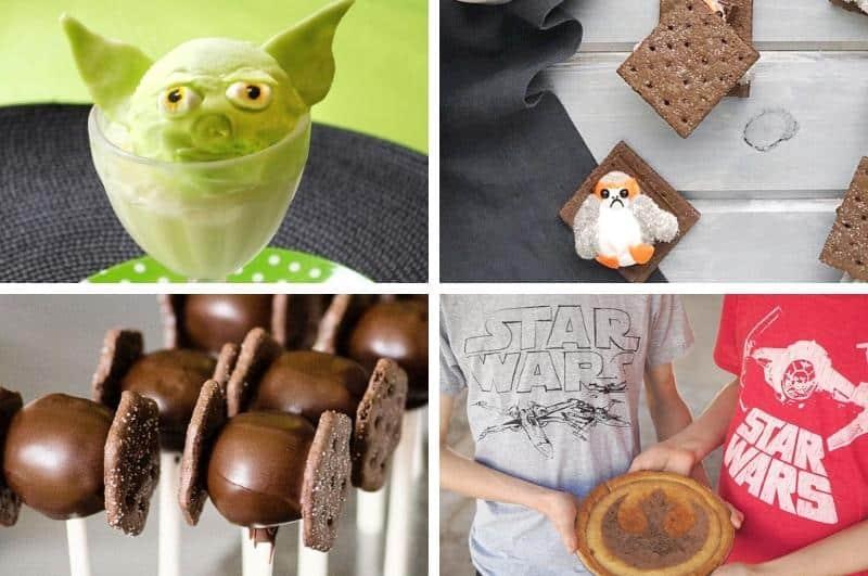 DIY Star Wars treats collage
