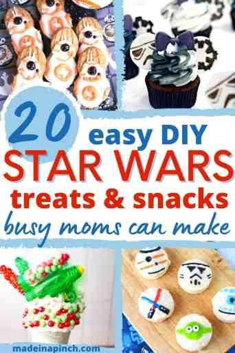 easy DIY Star Wars treats