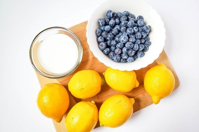 blueberry lemonade recipe ingredients