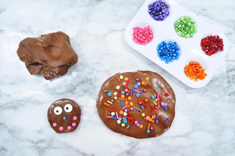 DIY Nutella playdough